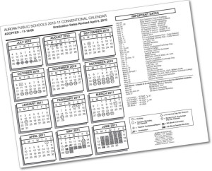 Approved 2016 17 Conventional Calendar – Aurora Public Schools